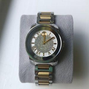 Movado Accessories - Movado bold  Lux two-tone watch